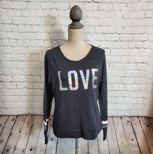 Victoria's Secret Logo Sweatshirt w/ Sequin